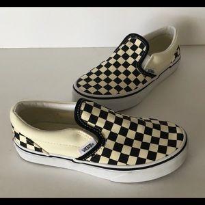 Vans Kids Checkered Slip on sneakers 1.0  🤗